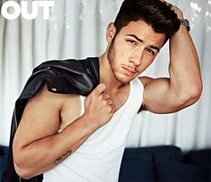 Nick Jonas in 'Out.'