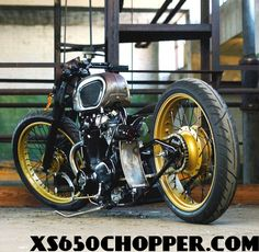 XS 650, One of my favorite builds ever.