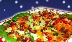 Σαλάτα με ρόδι και καρύδια Greek Recipes, Salsa, Mexican, Ethnic Recipes, Food, Essen, Greek Food Recipes, Salsa Music, Meals