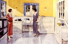 A Brief History of Kitchen Design from 1900 to 1920 | Apartment Therapy