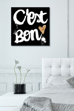 C Est Bon Canvas Wall Art on @HauteLook