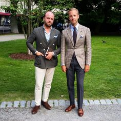 """Together with consultant and stylist @marcusmalmborg earlier today. I'm wearing jacket and trousers from @zarembabespoke, shirt from @barbanapoli, tie…"""