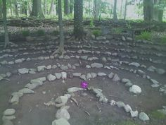 Creating a Labyrinth in Your Backyard