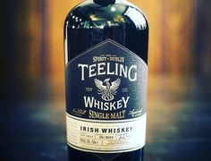 The light, lively and delicious Teeling Single Malt Irish Whiskey
