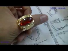 Make 18k gold handmade rings - YouTube