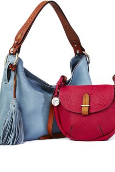 Dooney & Bourke pebbled leather
