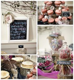We were delighted to be a part of Meredith and Trey's wedding. Thank you to A Swanky Affair for sharing these pictures! Diy Wedding, Wedding Ideas, Dessert Buffet, Event Planning, Affair, Brides, Goodies, Events, Candy