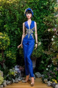 MOON RIVER Jumpsuit for 16'' Fashion Doll Numina