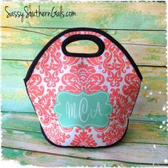 Monogram Lunch Bag Succulents Calla Lilly Pinterest Tote Brown Bags And Lunches