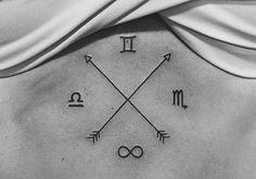 Tatuagens de signos que fogem do óbvio