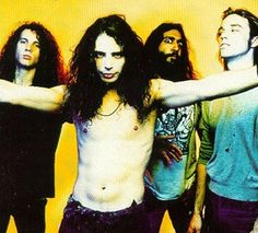 I love this...early on ...Kim always making some eyebally face, Chris w/ no shirt, Matt trying to look crazy, and Jason just standing there...