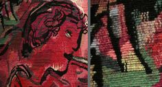 Chagall Tapestry by Yvette Cauquil-Prince