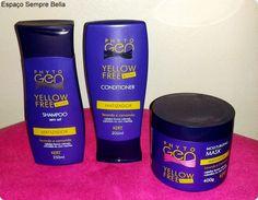 Espaço Sempre Bella: #Resenha - Linha PhytoGen Yellow Free - Kert Cosmé...