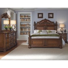 Found it at Wayfair - Cheswick Four Poster Customizable Bedroom Set