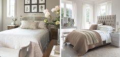 Decorar el dormitorio en color gris topo - http://www.decoora.com/decorar-dormitorio-color-gris-topo/