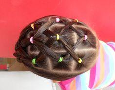 Peinado fácil para niña / Easy ponytail for girl ❤