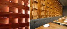 madera laminada en paredes - Buscar con Google