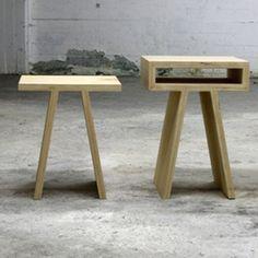 Pi-stool/kruk een design product van Tim Vinke