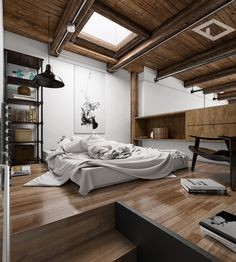 San Fransisco Loft by Line Office on Behance