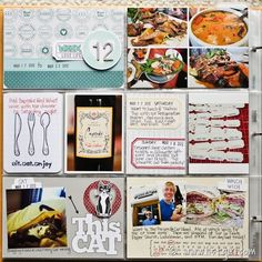 2012 Project Life | Week 12 [project life layout inspiration]
