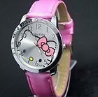 Hello Kitty Large Face Quartz Watch - Pink Band + Hello Kitty Pouch - The Big Little Toy Shop