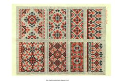 Free Easy Cross, Pattern Maker, PCStitch Charts + Free Historic Old Pattern Books: Ukrainian Embroidery 1930 - украинские вышивки 1930 (06 of 13)