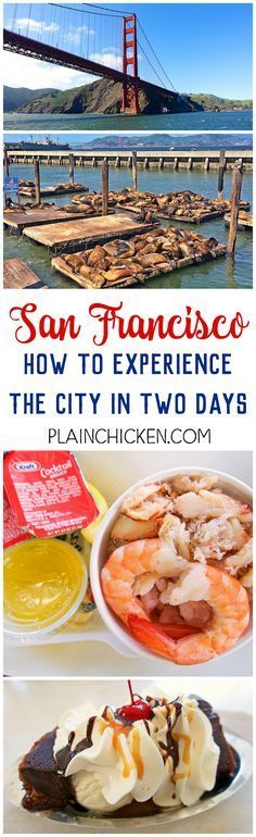 What to see, do and eat in San Francisco, CA - bay tours, Sausalito, Original Joe's, Harris' Steakhouse, Napa Valley Burger Company,…