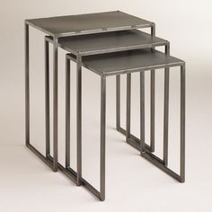 One of my favorite discoveries at WorldMarket.com: Ashton Nesting Tables, Set of 3