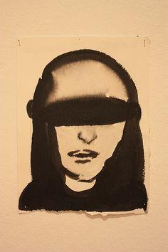 Marlene Dumas (1953-) - Série de dessins (1979-2004)