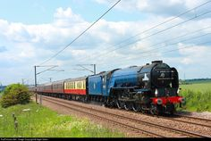RailPictures.Net Photo: 60163 British Railways Steam 4-6-2 A1 Class Pacific at Hitchin, United Kingdom by Nigel Gibbs