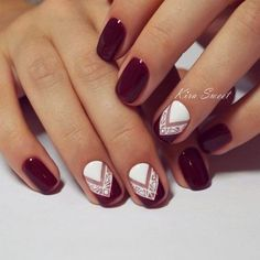 New Trendy Burgundy Nail Ideas picture 3 #NaturalNails