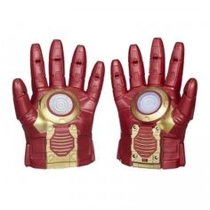 The Avengers: Age of Ultron Iron Man Arc FX Armor is a set of two Arc FX gloves, one with a motion-activated, light-up repulsor in the palm.