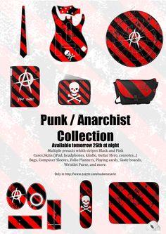 Punk / Anarchist Stripes Collection