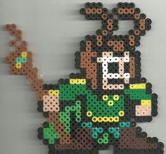 Loki perler beads by Ravenfox-Beadsprites on deviantart
