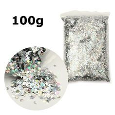 Glitter Emulsion Paint Holographic Stars & Moons Silver Rainbow Wedding Birthday Party To Throw Confetti Continental Accessories-in Sequins from Home & Garden on Aliexpress.com | Alibaba Group