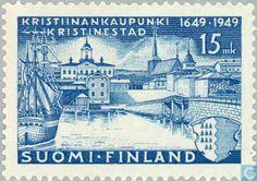 Postage Stamps - Finland - 300 years Kristiinankaupunki