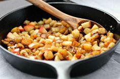 caramelized sweet potato apple hash browns 2