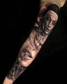 Beautiful tattoo by jamestattooartLocation Vienna Forarm Tattoos, Forearm Sleeve Tattoos, Best Sleeve Tattoos, Finger Tattoos, Body Art Tattoos, Girl Tattoos, Tattoos For Guys, Jesus Tattoo, Angel Tattoo Designs