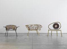 Detonado Chair, 2013 Racket Chair (circles), 2013 Racket Chair (Tennis), 2013 by the Campana Brothers