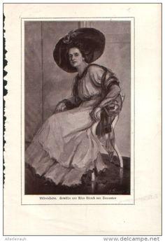 Bildnisstudie - Druck, entnommen aus Velhagen und Klasings- Monatsheften, 1916