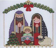 Amazon.com: Nativity Stamped Cross Stitch Kit by Janlynn: Arts, Crafts & Sewing