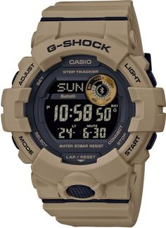 Men& Casio G-Shock Step Tracker Watch with Black D.- Men& Casio G-Shock Step Tracker Watch with Black Dial and Brown Strap Men& Casio G-Shock Step Tracker Watch with Black Dial and Brown Strap - Casio G-shock, Casio Watch, Omega Speedmaster, Smartwatch, Rolex Daytona, Sport Watches, Watches For Men, Popular Watches, Special Forces