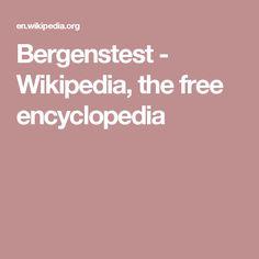 Bergenstest - Wikipedia, the free encyclopedia