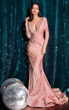 Pageant Dresses, Evening Dresses, Formal Dresses, Formal Evening Gowns, Party Dresses, Mermaid Skirt, Mermaid Gown, Long Sleeve Gown, Long Sleeve Formal Dress