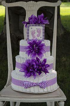 Diaper Cake - BelliestoBabies