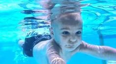 Under water memories.  Baby learns to swim. #YesMemory