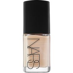 NARS Sheer Glow Foundation ($45) ❤ liked on Polyvore featuring beauty products, makeup, face makeup, foundation, beauty, faces, nails, fillers, brightening mask and moisturizing mask