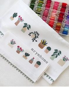 Bargello, Cross Stitch Embroidery, Sewing, Creative, Handmade, Instagram, Face Towel, Craft, Layette
