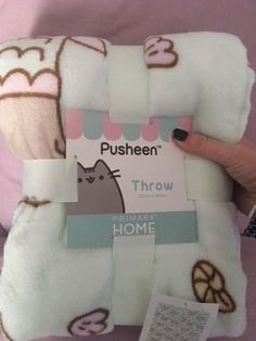 PUSHEEN MERMAID Fleece Blanket Throw Primark PUSHEEN THE CAT