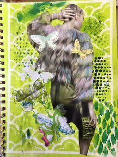 Carmen B. Norris: Art Challenge- 15 Days of 15 minute Mixed Media-8/...